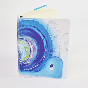 Hope the Snail Design A5 Hardback Notebook