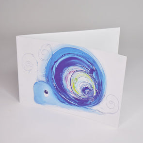 Hope the Snail Greeting Card