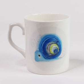 'Hope the Snail' Bone China Mug