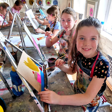 Saturday Children's Art School 5 week Course starting Sat 2nd November 2019