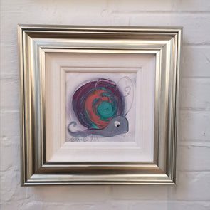 Violet the Snail- Original Painting
