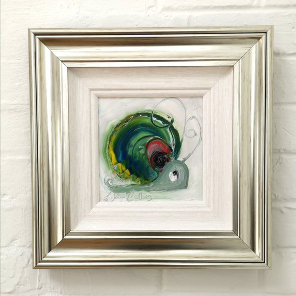Jack the Snail- Original Oil Painting