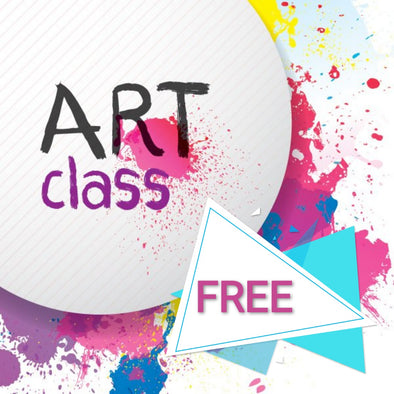 FREE ART CLASSES FOR 1 WEEK OVER HALLOWEEN