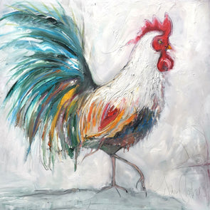 Chanticleer the Cockerel - Original Oil Painting