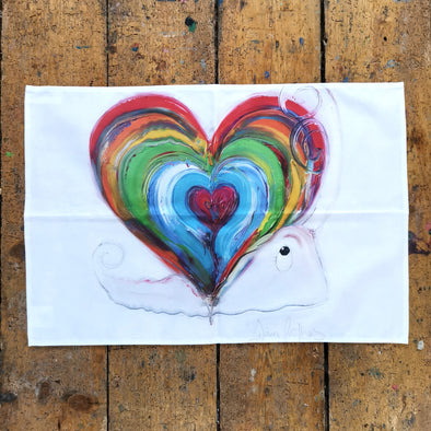 Home is where the heart is Teatowel - Homeware