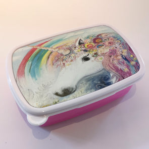 Sweet Pea and the Unicorn Snails Kids Lunch Box