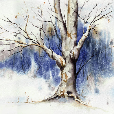 Winter Tree Adult Painting Evening - Friday 11th December 2020