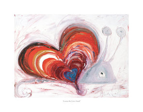 Lorna the Love Snail - Ltd Edition Print