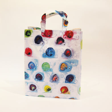 Snail Oil Cloth Shopping Bag - Homeware