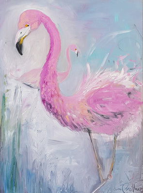 Pamela the Flamingo - Ltd Edition Print