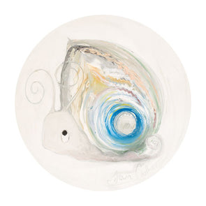 Pearl the Snail - June Birthstone Ltd Edition Print