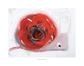 Poppy the Snail - Ltd Edition Print