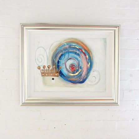 Prince Louis the Royal Snail - Original Painting