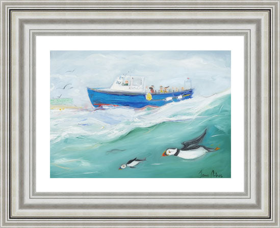 Rathlin Bird Watchers - Ltd Edition Print
