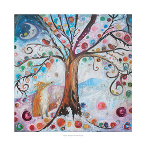 Snail Winter Wonderland - Ltd Edition Print