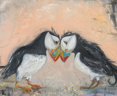 Soul Mates - Original Oil Painting