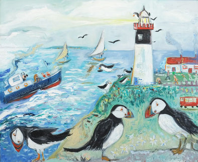 The Spirit of Rathlin - Original Oil Painting