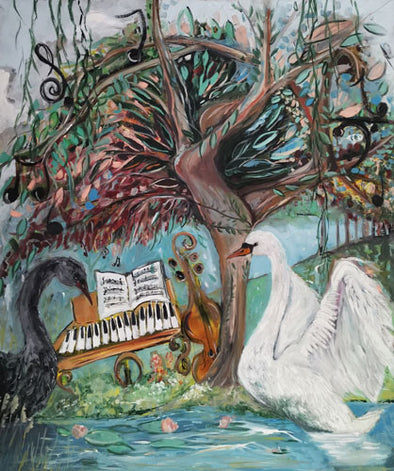 Tchaikovsky's Musical Tree - Ltd Edition Print