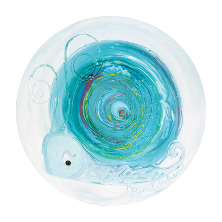 Turquoise the Snail - December Birthstone Ltd Edition Print
