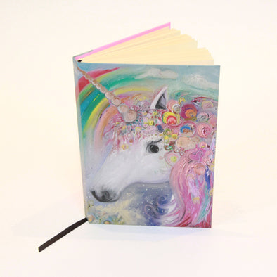 Unicorn Design A5 Hardback Sketchbook