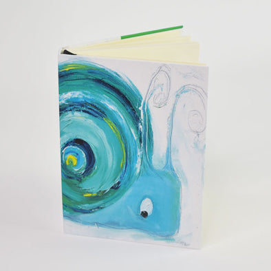 Will Grigg the Snail Design A6 Hardback Notebook