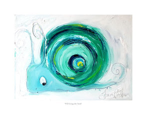 Will Grigg the Snail - Ltd Edition Print