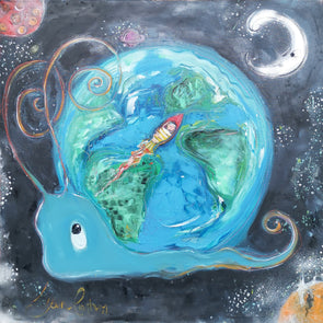 World/ Space Snail (Still to be Named) - Ltd Edition Print
