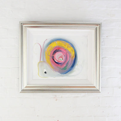 Barbara the Snail - Original Painting