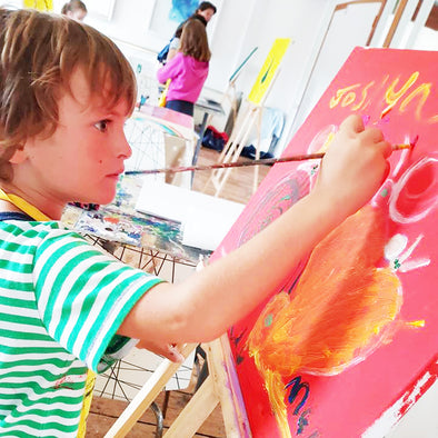 Art Explorers Painting/ Clay Workshop - 5 to 7 Years - Sat 11th January 2020