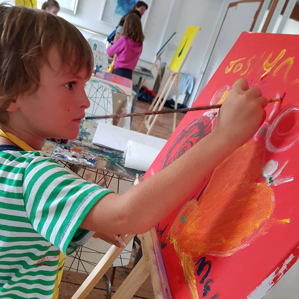 Saturday Children's Art School TERM 2- 5 week Course starting Sat 29th February 2020