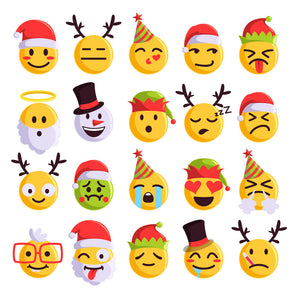 Christmas Emoji Art Workshop - 6+ Years - Sat 14th December 2019