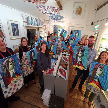 Picasso & Pimms Adult Paint & Sip Evening - Friday 3rd July 2020