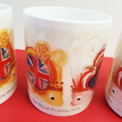 Ltd Edition Royal Wedding Bone China Mug