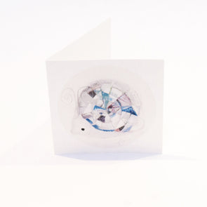 April Birthstone Greeting Card