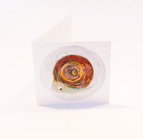 January Birthstone Greeting Card