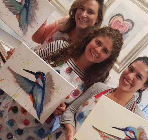 Kingfisher Adult Paint & Sip Evening - Friday 18th October 2019