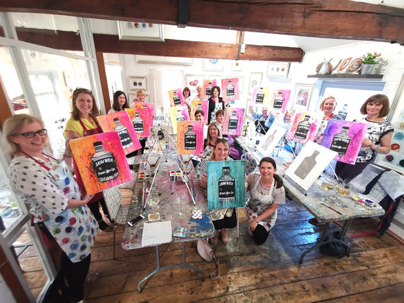 Poppy Watercolour Adult Paint & Sip Evening - Friday 8th November 2019