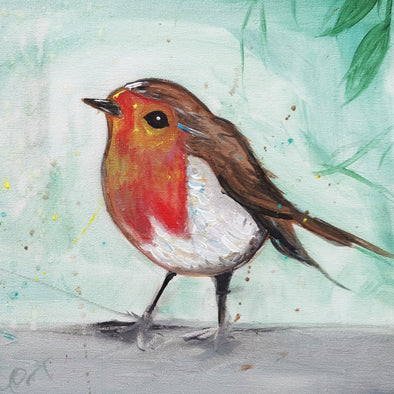 Christmas Robin Adult Painting Evening - Friday 4th December 2020