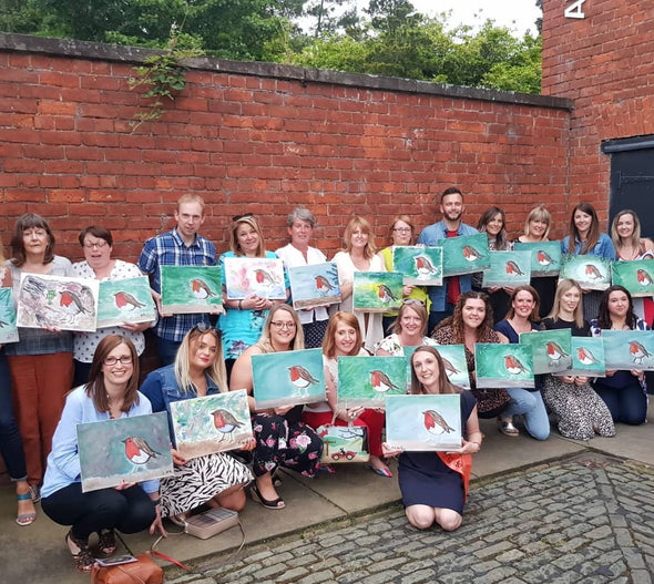 Autumn Tree Adult Paint & Sip Evening - Thursday 24th October 2019