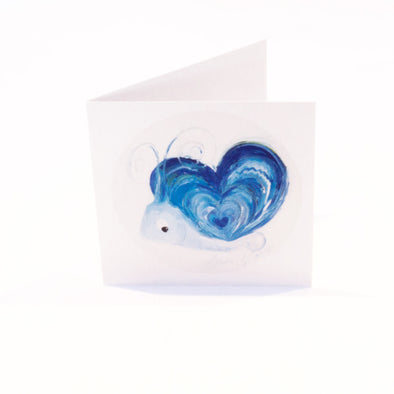 September Birthstone Greeting Card