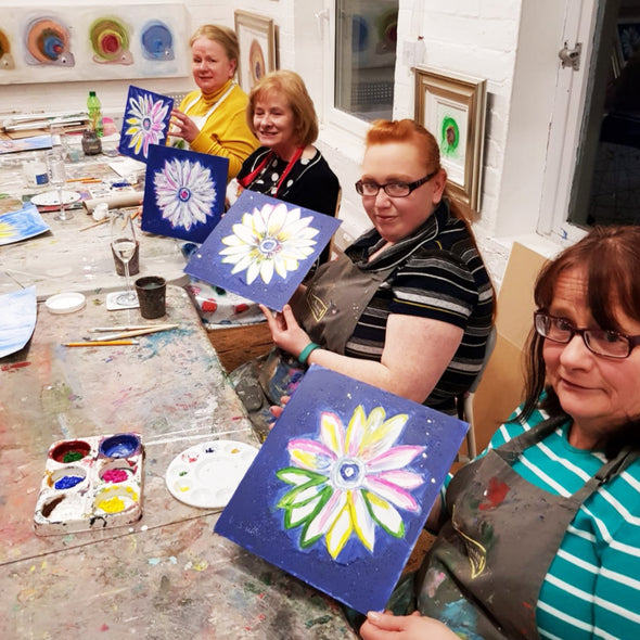Andy Warhol Sunflower Adult Paint & Sip Evening - Friday 17th January 2020