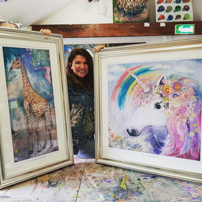Children's Unicorn Painting Workshop - 5 to 8 Years - Sat 13th April 2019