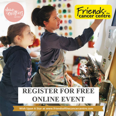 Friends of the Cancer Centre - Wish upon a star - FREE ART CLASS - Register