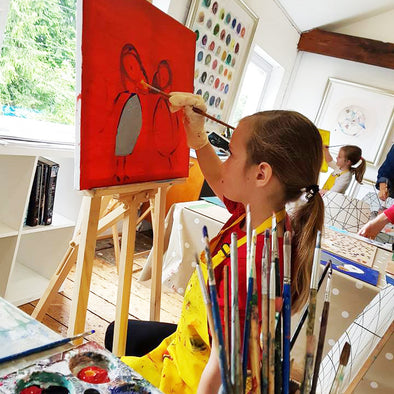Saturday Children's Art School 5 week Course starting January 2019