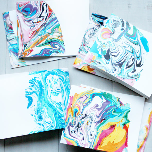 Marbling - Method and Madness Gin Adult Paint & Sip Evening - Friday 29th November 2019