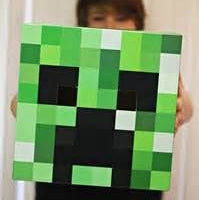 MINECRAFT SUMMER ART WORKSHOP Ages 6+ Saturday 24th August