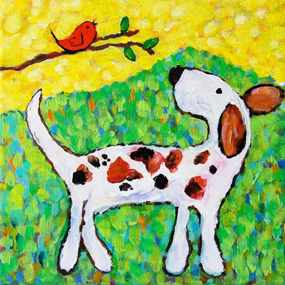 SUMMER ART WORKSHOP Ages 5 to 7 - Friday 19th July - Pet Portrait