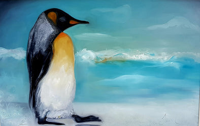 Family  Paint a Penguin Zoom Art Workshop  - Sunday 6th December 2020