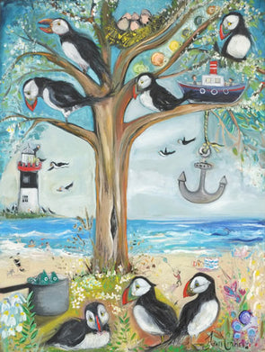 The Puffin Tree - Ltd Edition Print