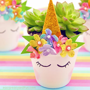 Children's Unicorn Flower Pot Painting Workshop - 5 to 10 Years - Sat 20th April 2019